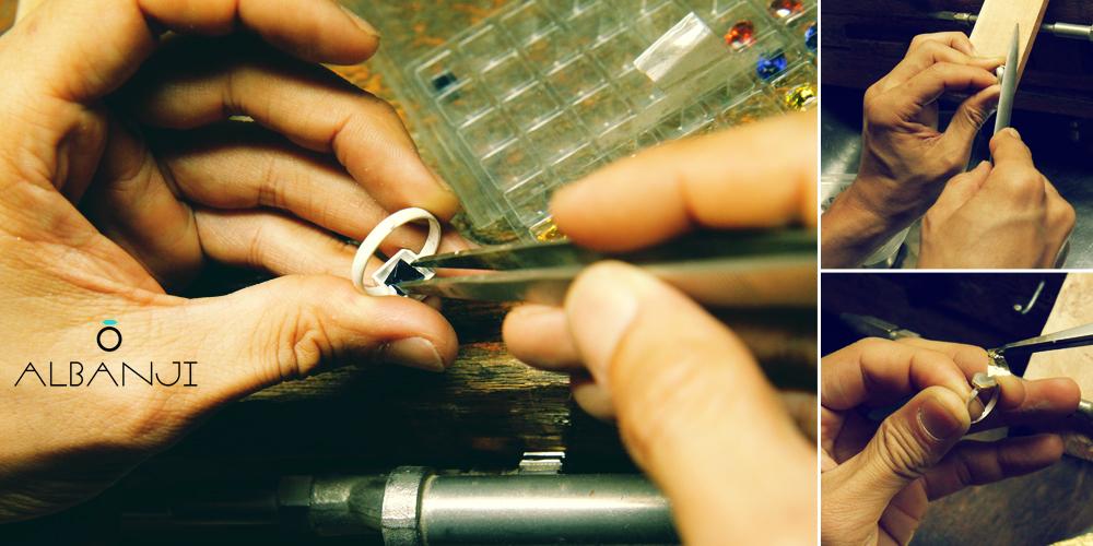 14K 무광 볼드 링 귀걸이 실버 925 - 알반지, 37,500원, 골드, 링귀걸이